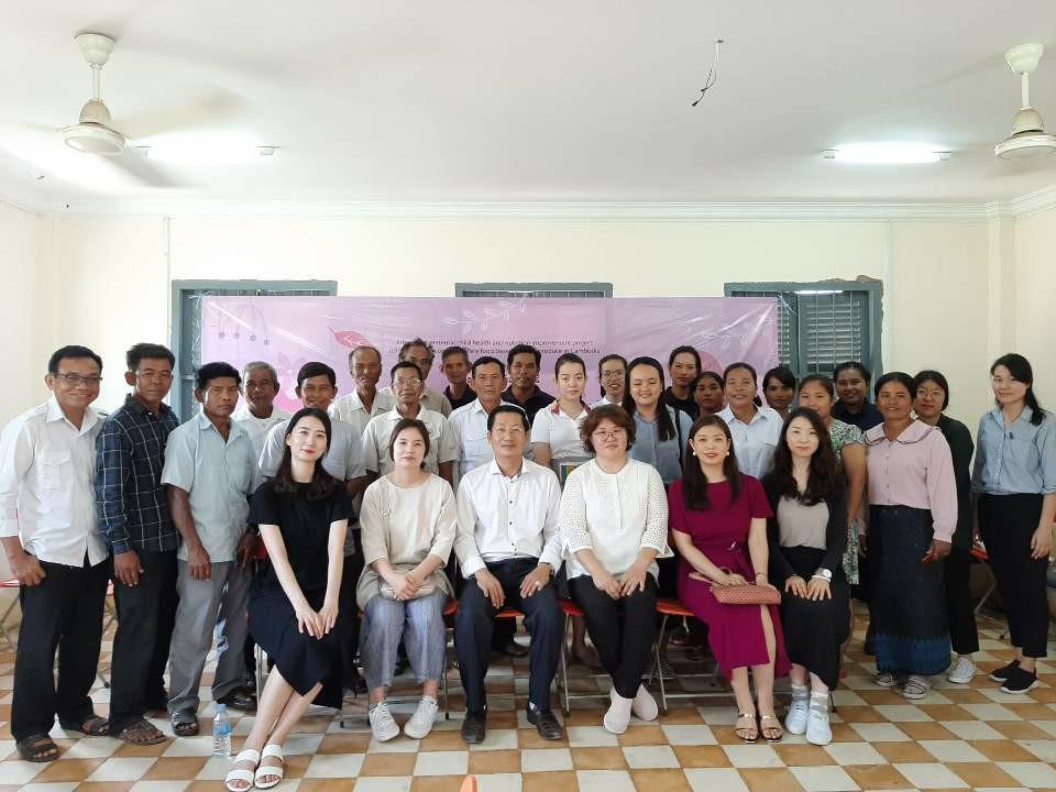 캄보디아 국제위드봉사단을 다녀와서