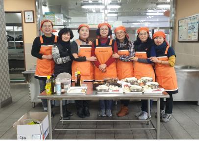 '맛있는 영양떡국 만들어봐요' 울산영양교사회, 보육원 봉사활동 실시