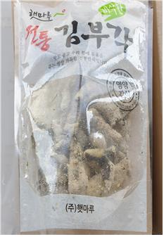 쥐사체 들어간 김부각 유통…식약처 회수조치